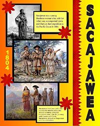 create a poster about sacajawea history poster school project poster ideas
