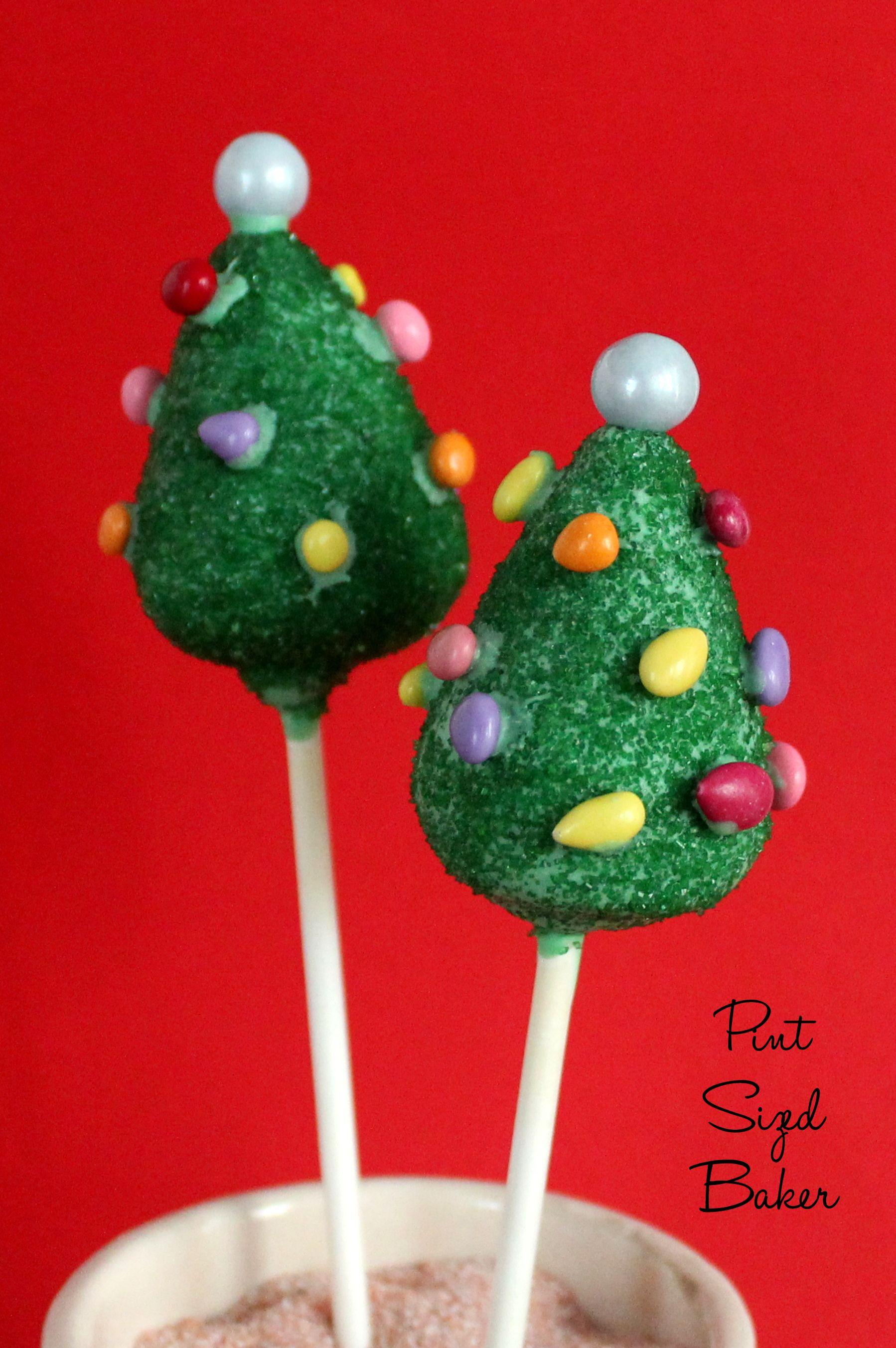 Christmas Tree Cake Pops. Easy and Fun!   Christmas cake ...