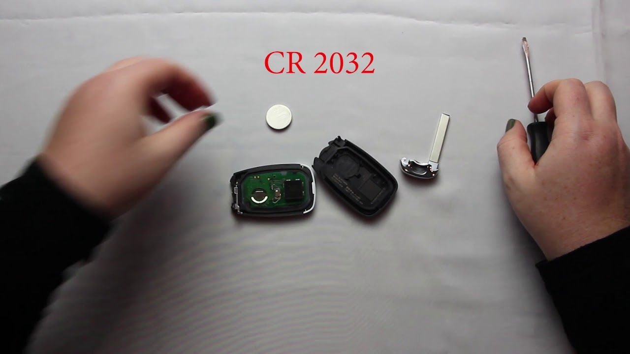 How To Replace A Chevrolet Equinox Key Fob Battery 2018