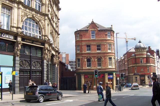 Nestled in Leeds city centre, next to the market and Corn ...