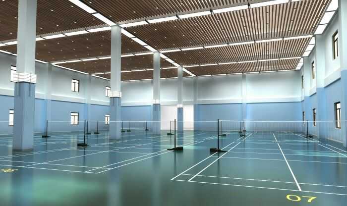 The Badminton Court Badminton Court Badminton Sports Complex
