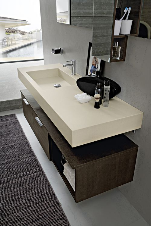 Mobile bagno arredo bagno pinterest bath and interiors for Cerasa arredo bagno