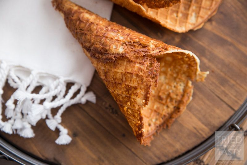 Homemade gluten free waffle cones recipe waffle cone