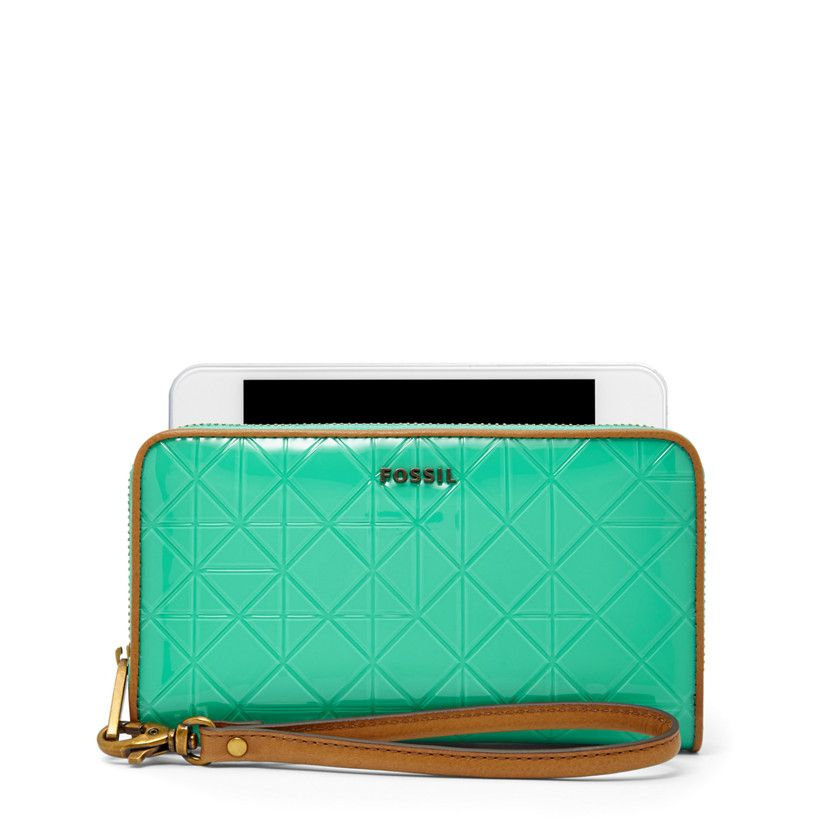 Fossil Sydney Zip Phone Wallet, SL6604| FOSSIL® For Her