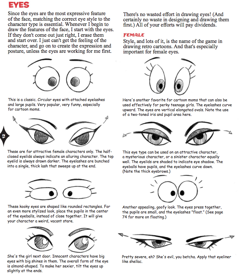 Character Design Eyes : Eyes cartoon cool how to draw new retro style characters