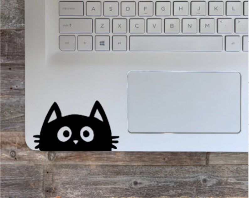 Cat Decal/Cat Sticker/Computer Decal/Laptop Stickers /Laptop | Etsy