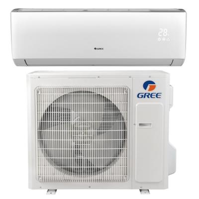 Gree 39500 Btu Ductless Ceiling Cassette Mini Split Air Conditioner With Heat Inverter And Remote 230volt Uma42hp230v1acs The Home Depot In 2020 Ductless Mini Split Ductless Air Conditioner