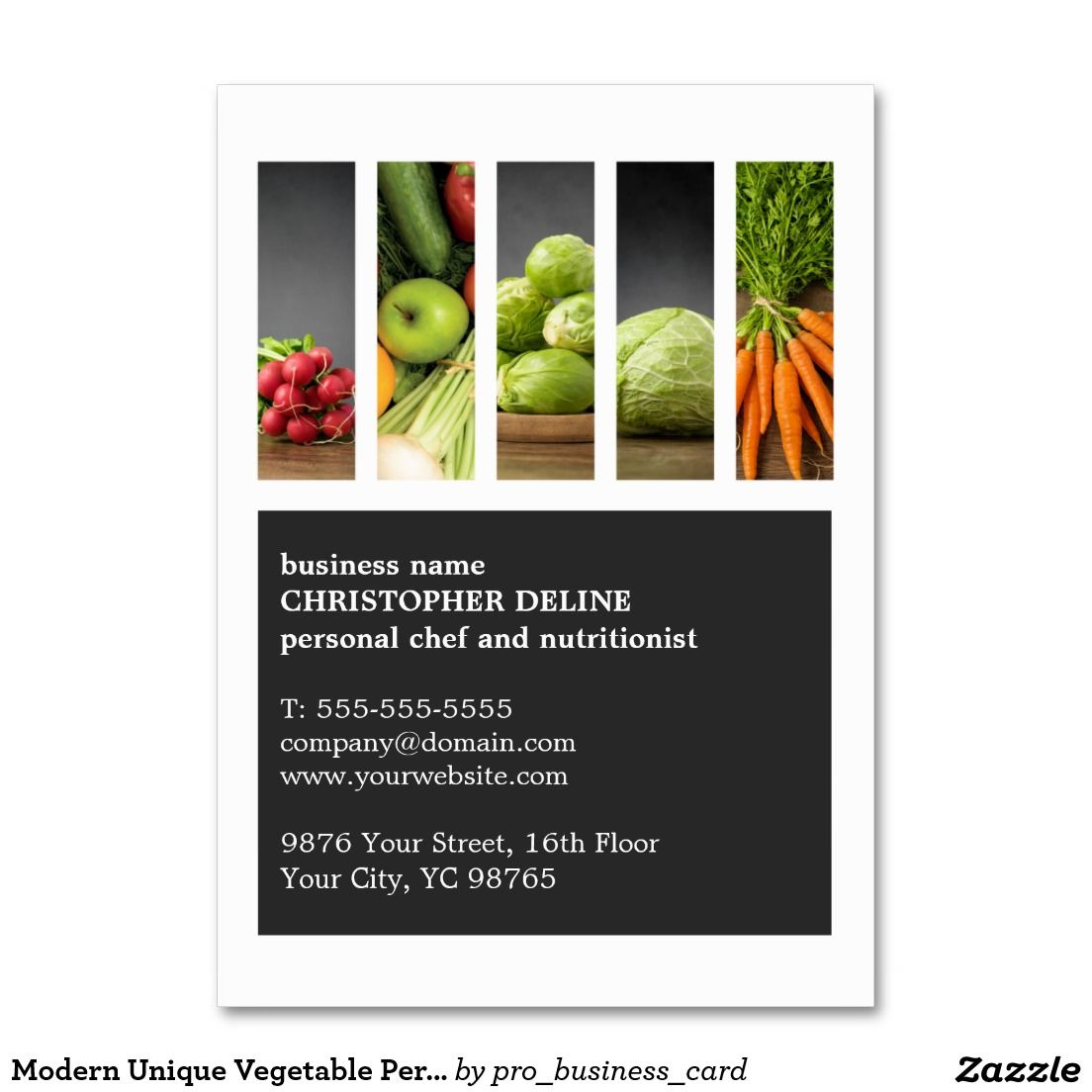 Modern Unique Vegetable Personal Chef Nutritionist