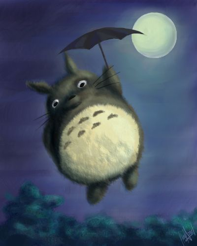 Totoro by hadazul on deviantART