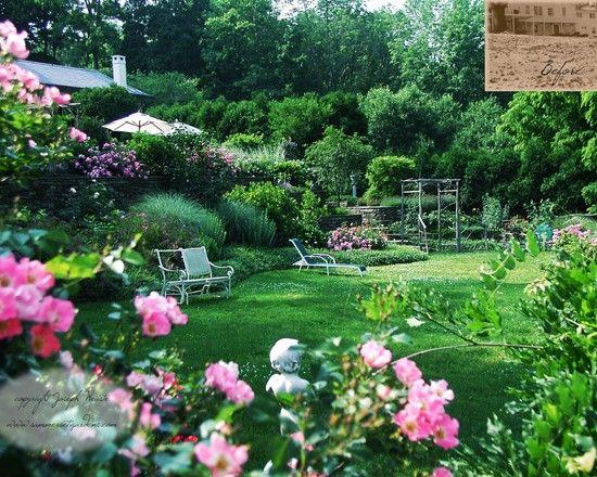 Easy Flower Garden Ideas Photograph Simple Romantic Garden