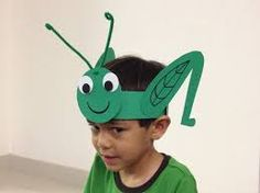 Cricket grasshopper hat foam pinterest craft for The cricket arts and crafts