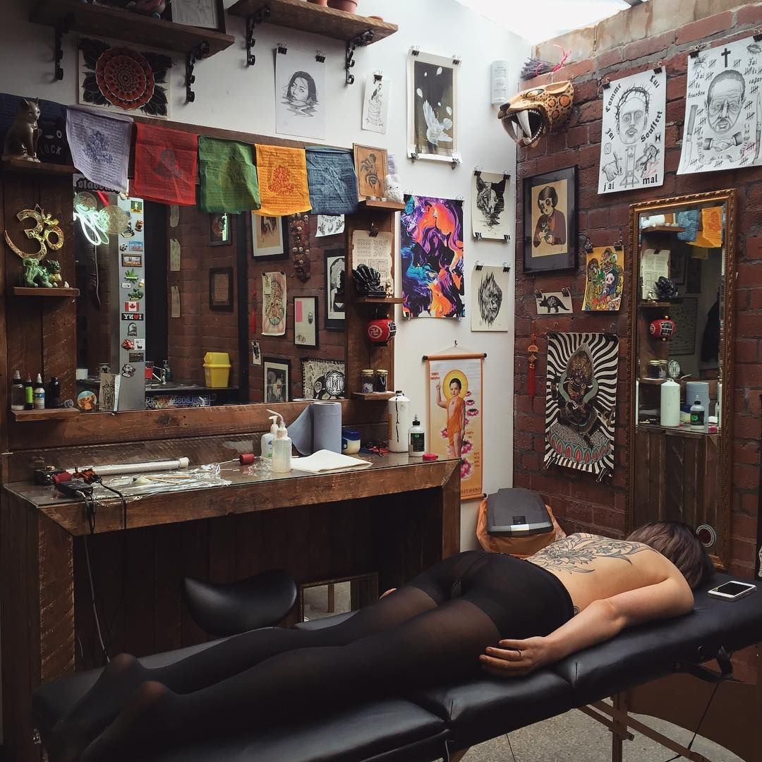 ee0e6f295 Black Stabbath Sheffield, UK Hannah Pixie, Tattoo Studio, Tattoo Shop,  Frame,