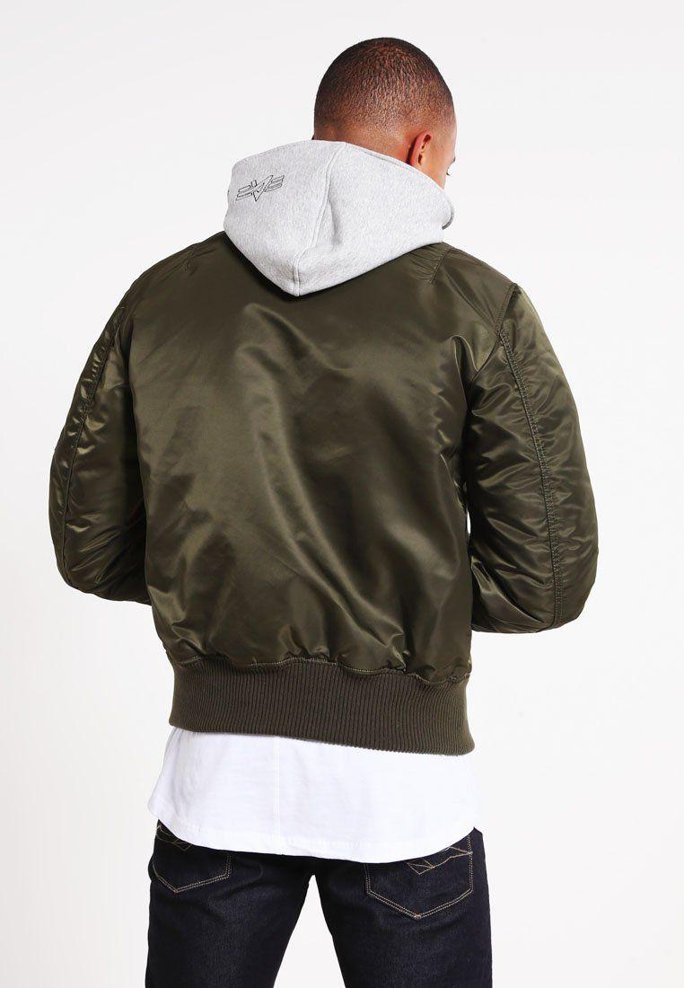 Alpha industries jacket ma 1 d tec