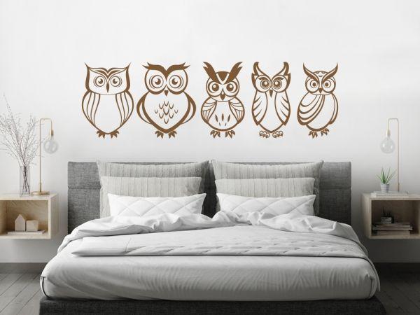 Wandtattoo Eulen Wandtattoos für Schlafzimmer Pinterest Products - wandtattoo fürs schlafzimmer