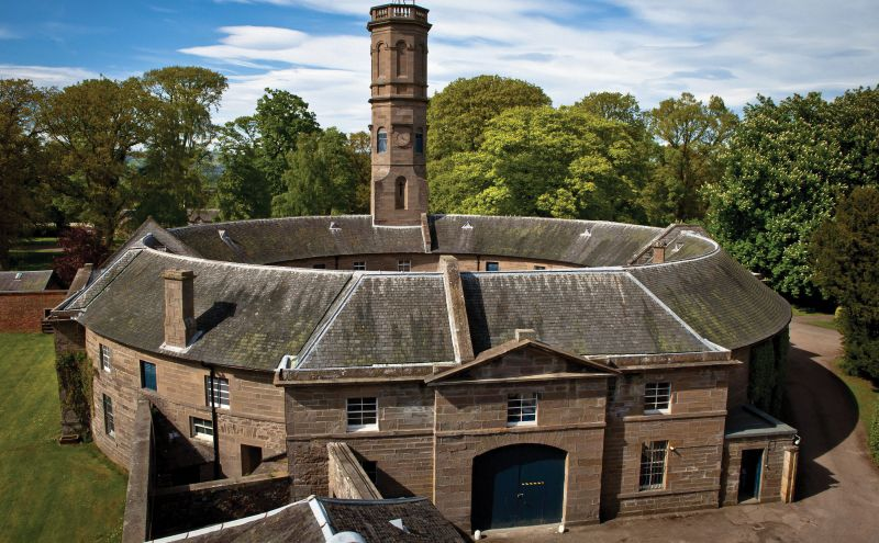 14 Scottish barn and stable wedding venues   Historic ...