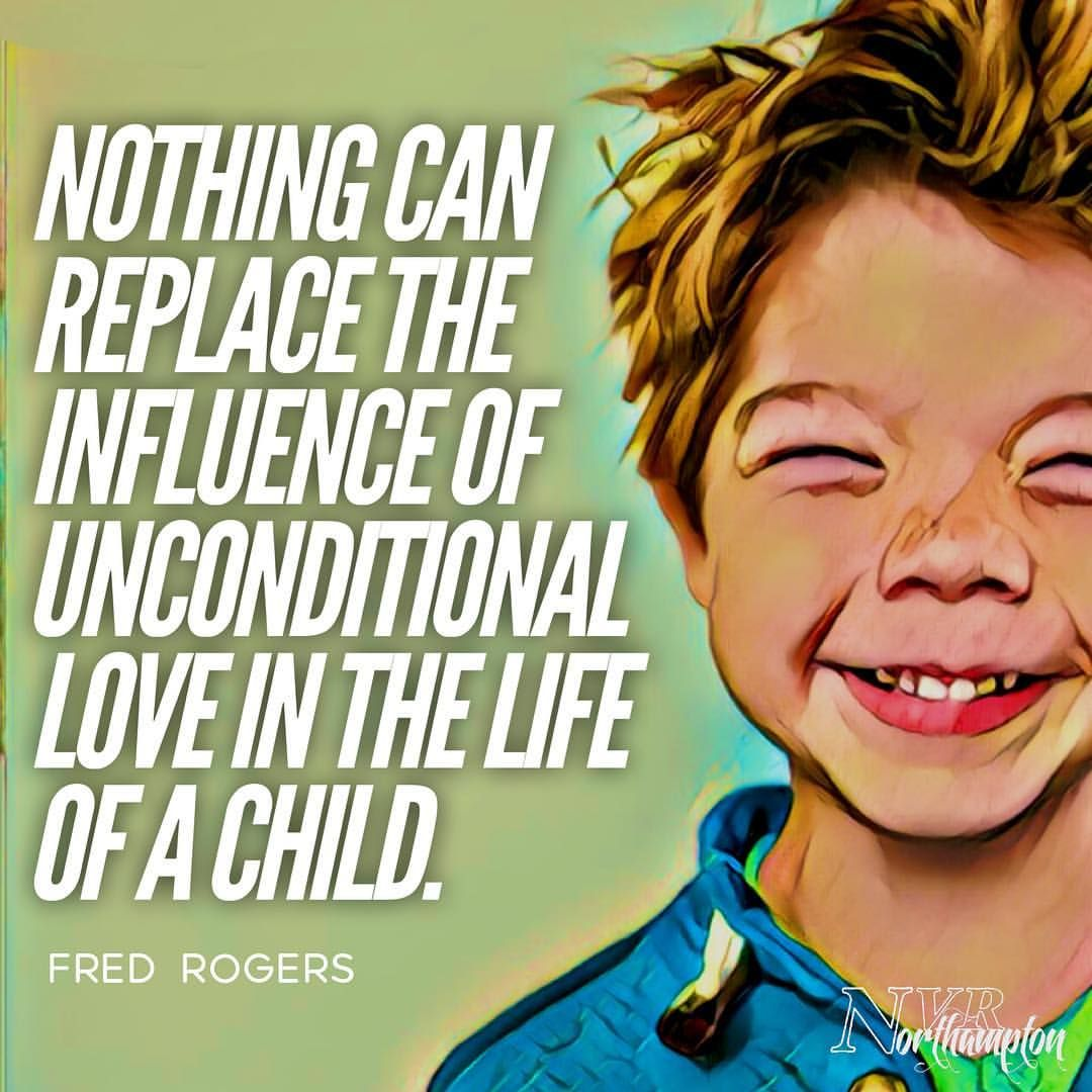 """""""Nothing can replace the influence of unconditional love ... Non Violent Resistance Parenting"""