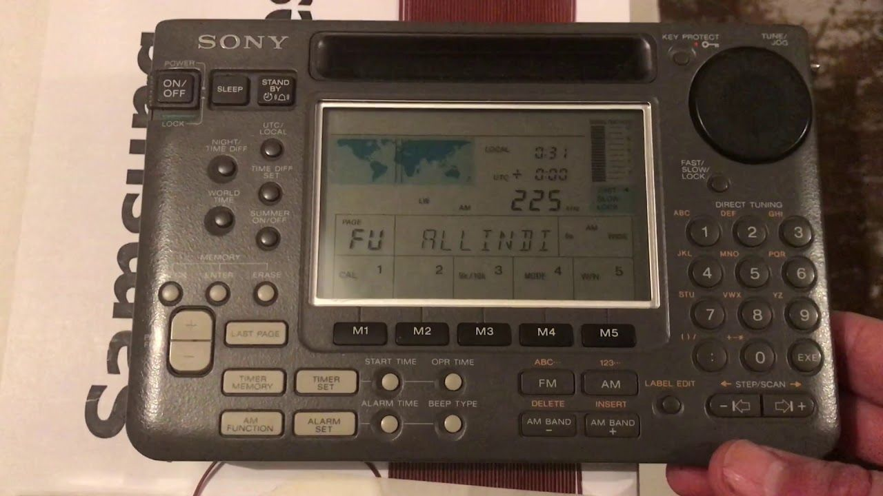 Polskie Radio 225 Khz On Lw Induction Loop Sony Icf Sw55 And