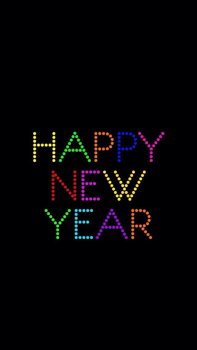 iPhone Wallpaper Happy New Year tjn Happy new year