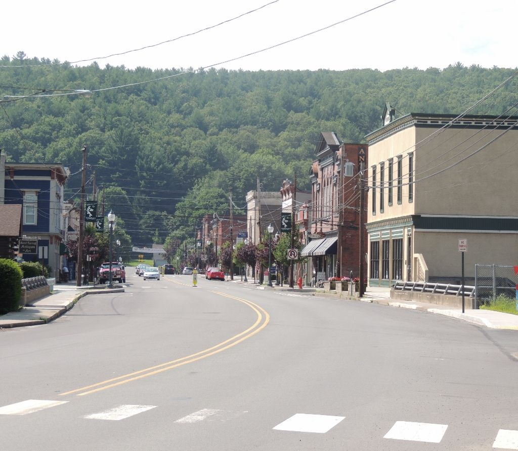 Hawley, PA won a spot among the top 20 towns, which will be