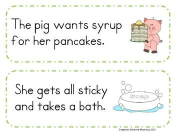 If You Give A Pig A Pancake Sequencing Activity Sequencing