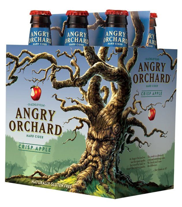 Angry Orchard Hard Cider - Refreshing Hard Cider With Attitude... enough said