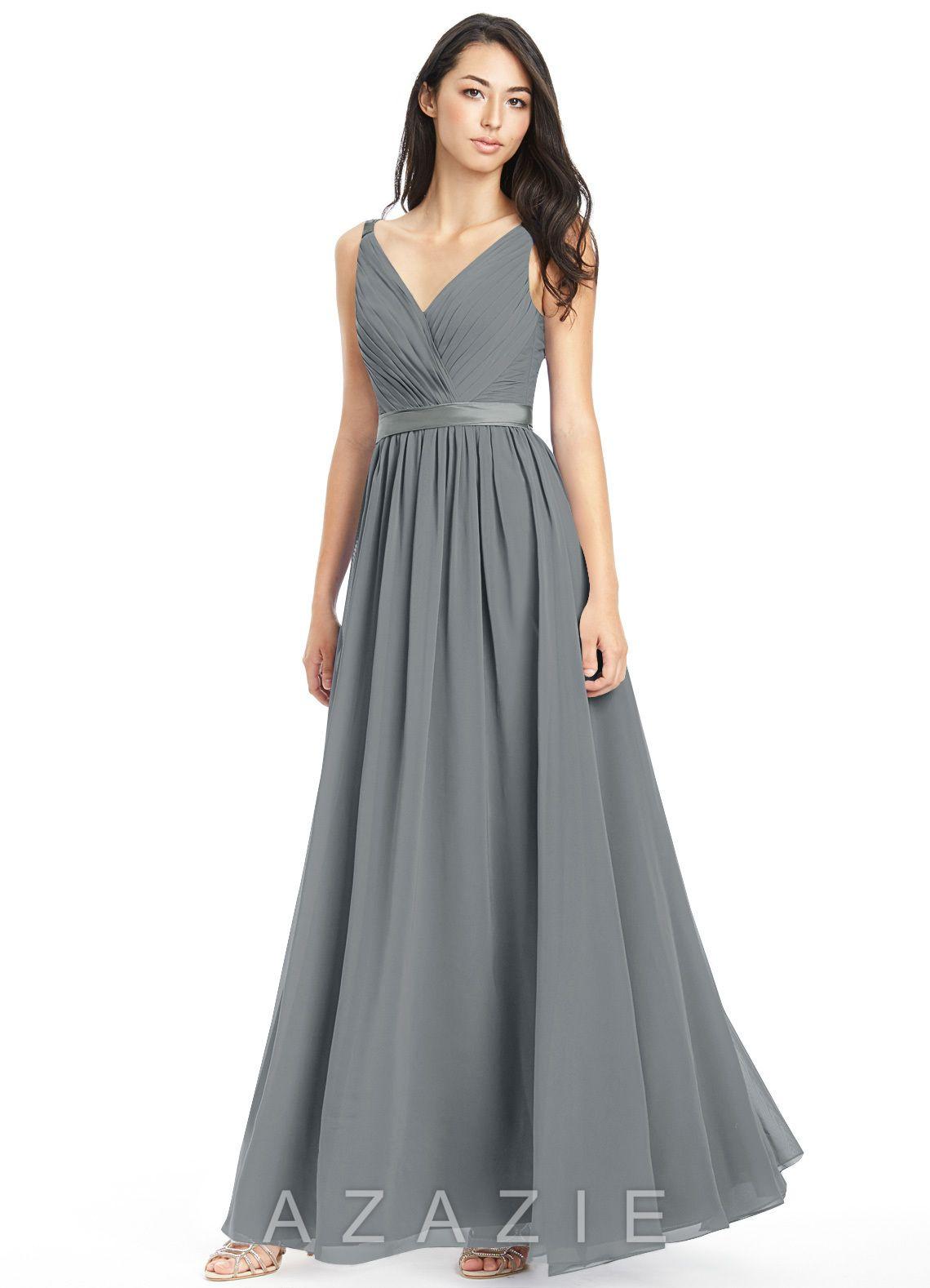 Shop azazie bridesmaid dress leanna in chiffon find the perfect leanna bridesmaid dress ombrellifo Images