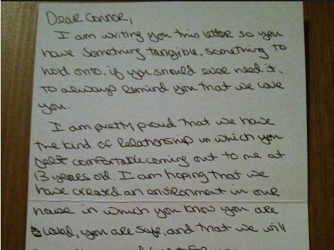 Read This Touching Love Letter From A Mother To Her Son  Sons