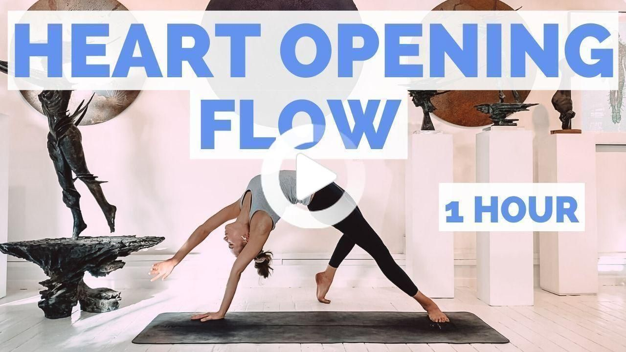 ..This yoga backbend sequence/ heart opening flow flow will give you a