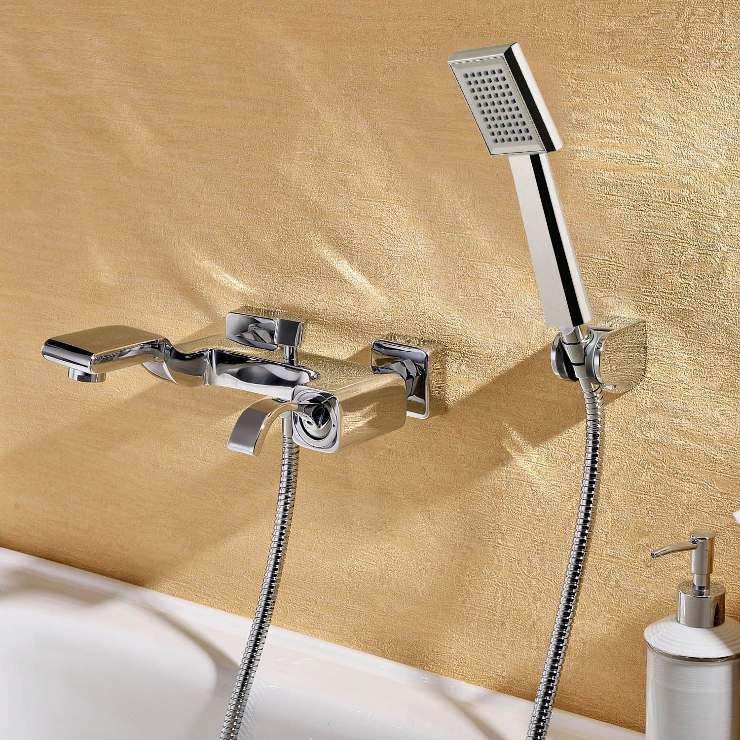 Lightinthebox Wall Mount Contemporary Chrome Finish Center Set