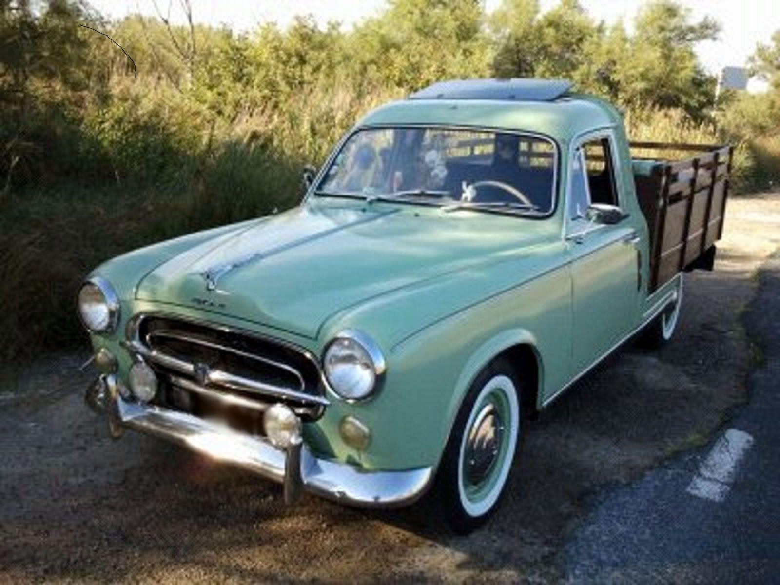 louer une peugeot 403 pick up de 1962 photo 1 pick up peugeot pinterest peugeot cars. Black Bedroom Furniture Sets. Home Design Ideas