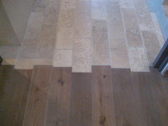 ceramic wood tile floor transition, tile to wood floor transition