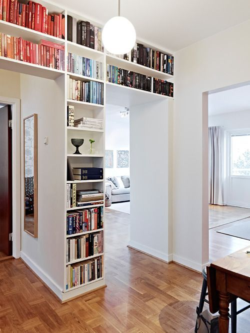 Merveilleux Doorway Wall Storage Solutions For Small Spaces