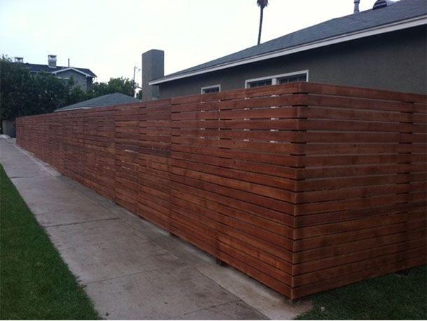 horizontal wood in horizontal wood fence fence pinterest wood