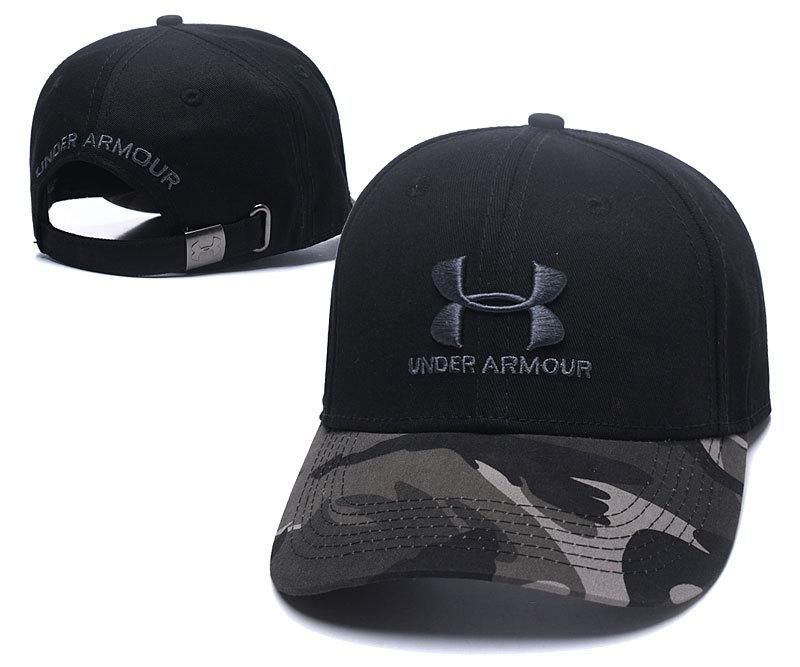 Men's / Women's Under Armour Classic Outdoor UA Logo Dad Hat - Navy Camo / Grey
