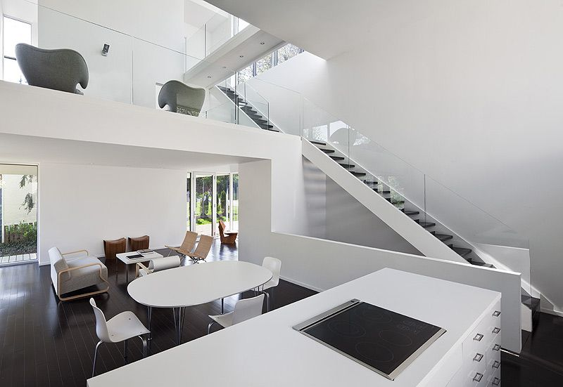 Kensington Residence - David Jameson Architects, decoracion, diseño - Diseo De Escaleras Interiores