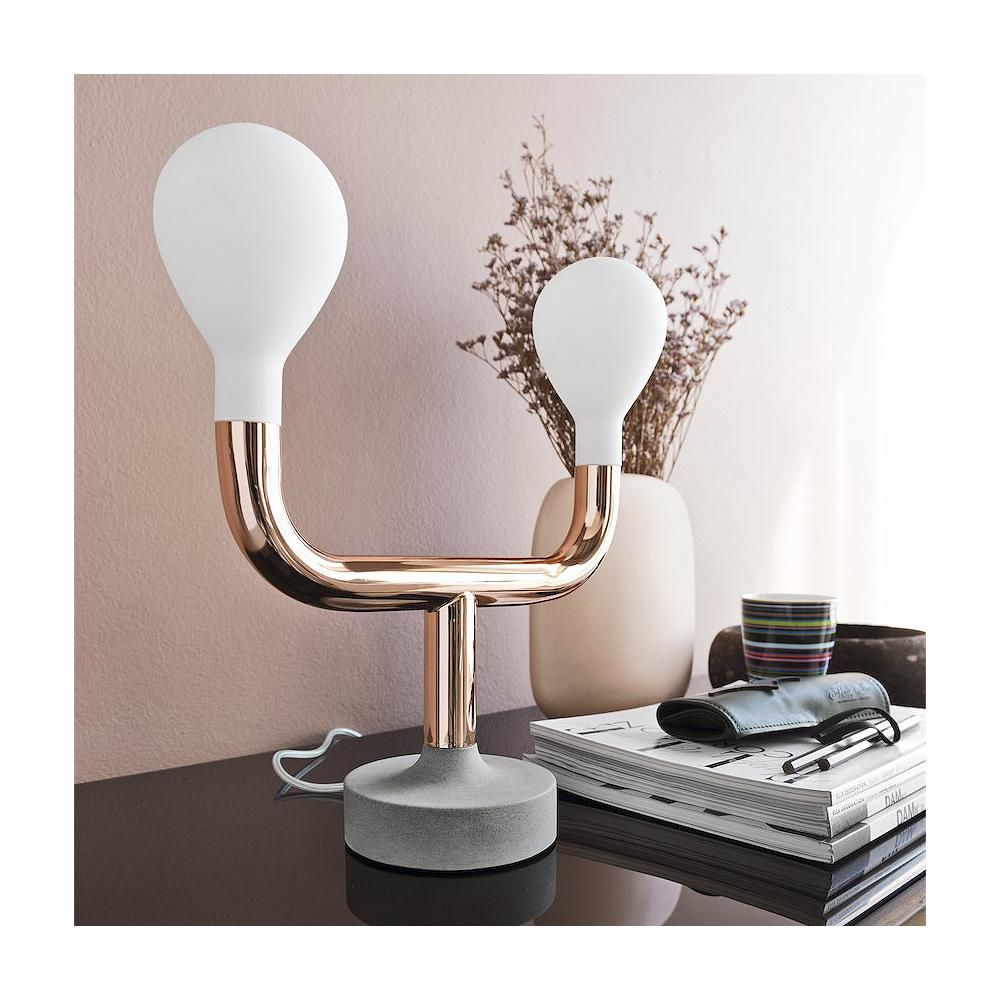 calligaris lighting. The Calligaris Pom Table Lamp Has A Unique Whimsical Design And Is Made Out Of 3 Materials That Flow Seamlessly From One To Other. Lighting