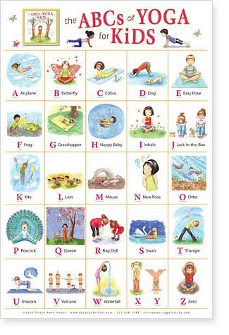 the abcs of yoga for kids 20 in 2020  kids yoga poses