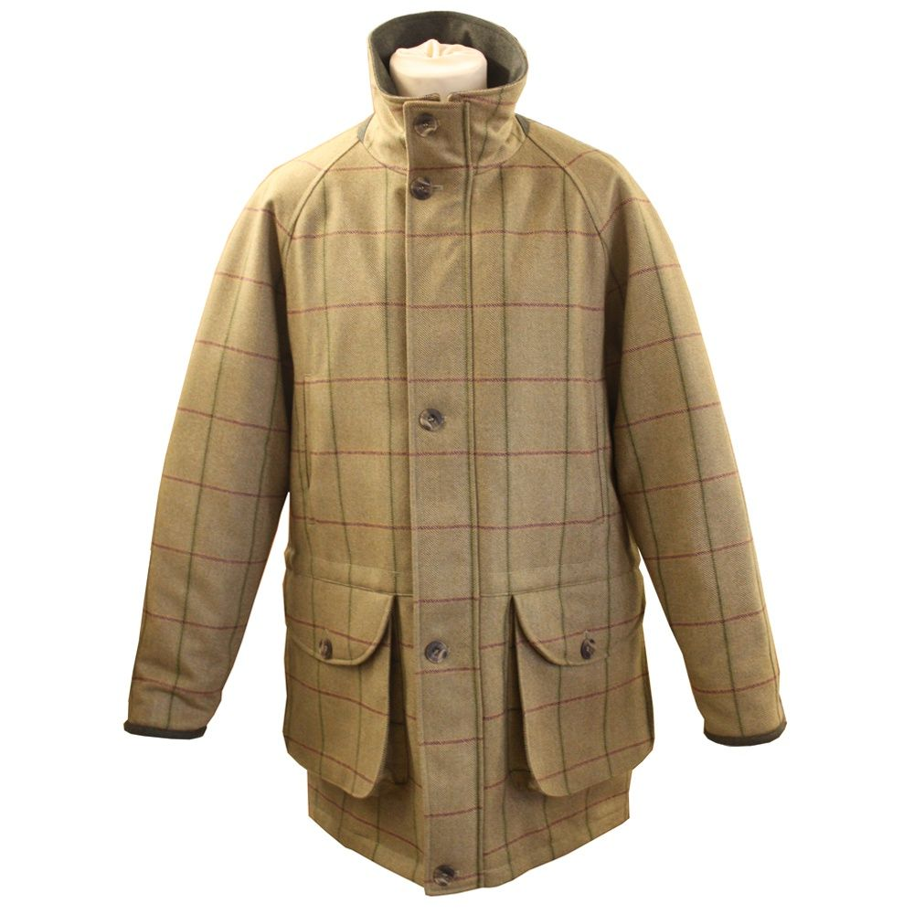 Quality Tweed Shooting Jacket complimenting the Glennan Shooting ...