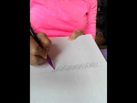 Video on How to Draw Meander and Waves www.pysankybasics.com