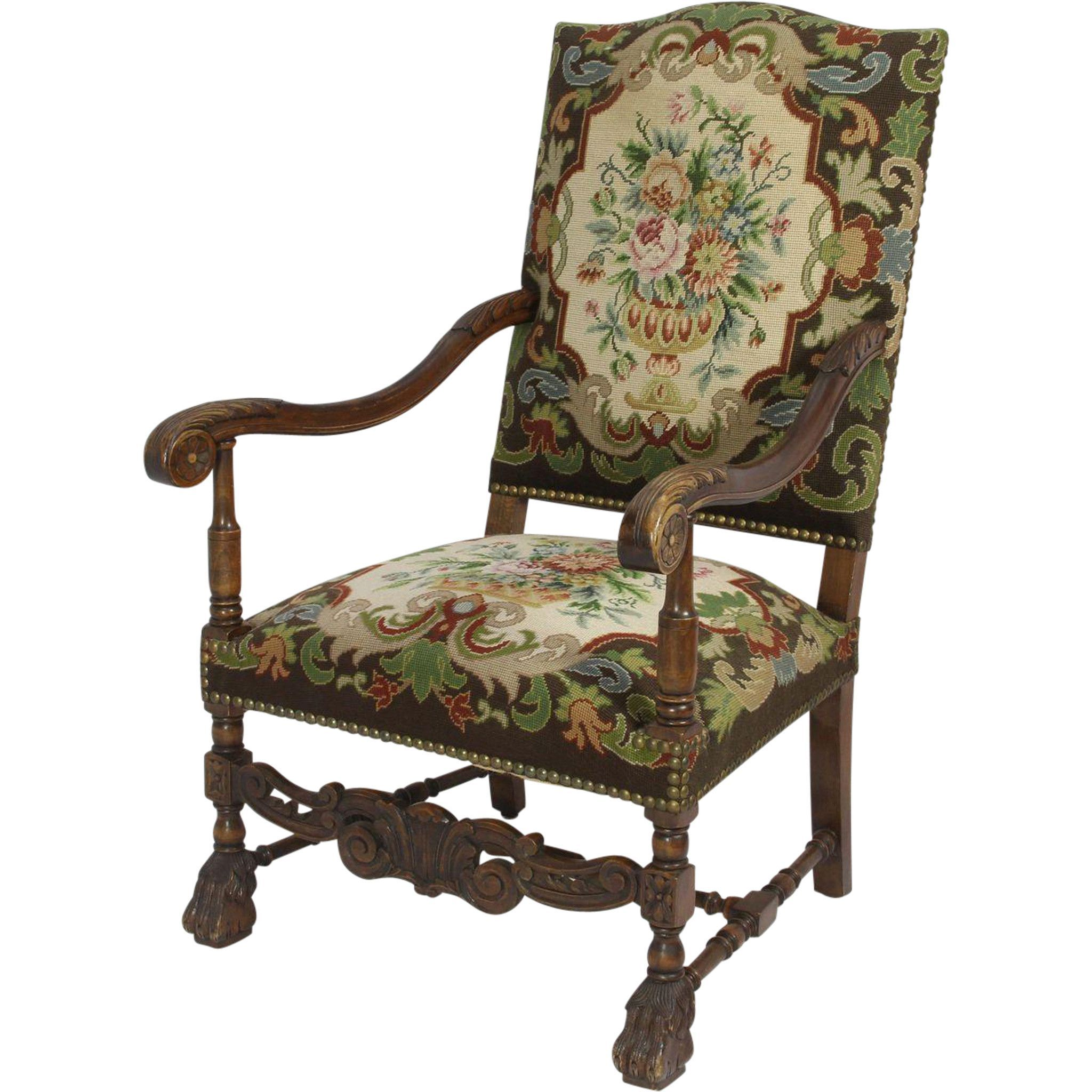 Walnut Armchair | Armchair, Chair, Chair fabric