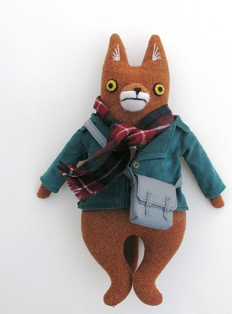 professor fox by Mimi K