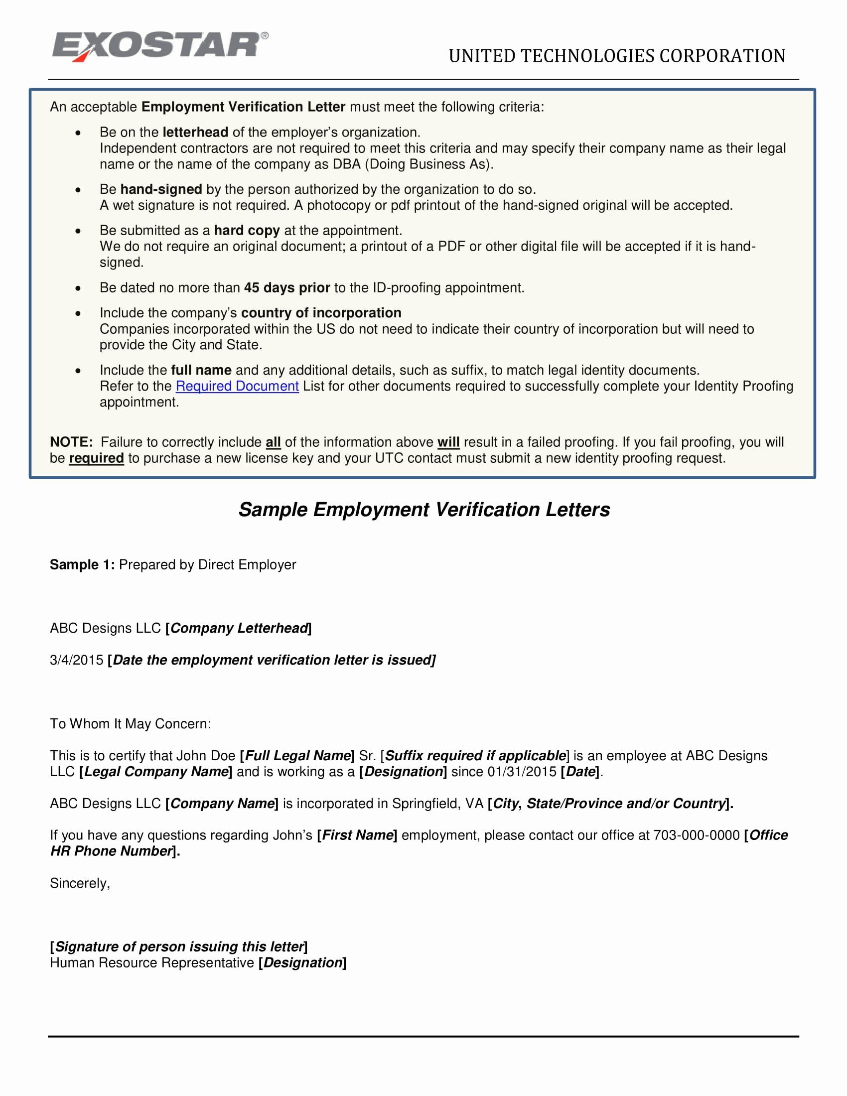 Free Employment Verification Letter Template Awesome Resume 40 Employment Verification Example Ideas Letter Templates Lettering Indesign Brochure Templates