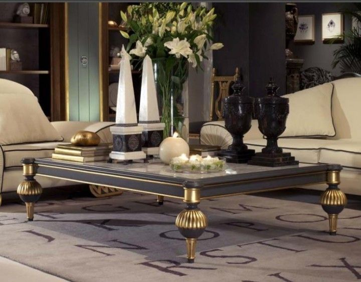 Classic Coffee Table Elegant Coffee Table Design With Handmade
