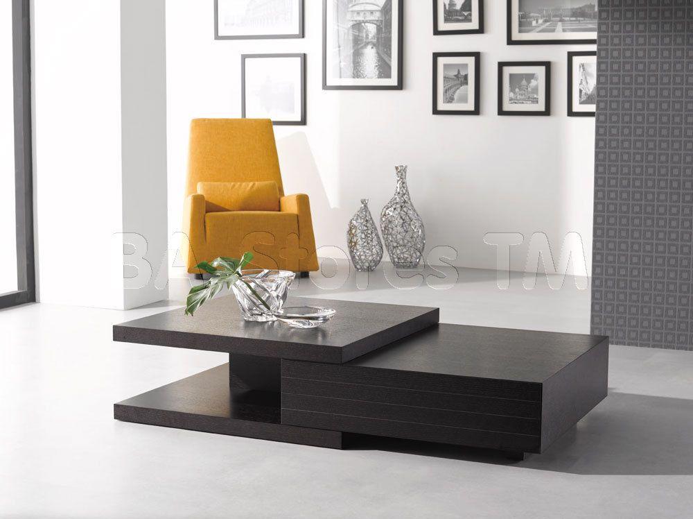 Dark Oak HK-19 Modern Coffee Table