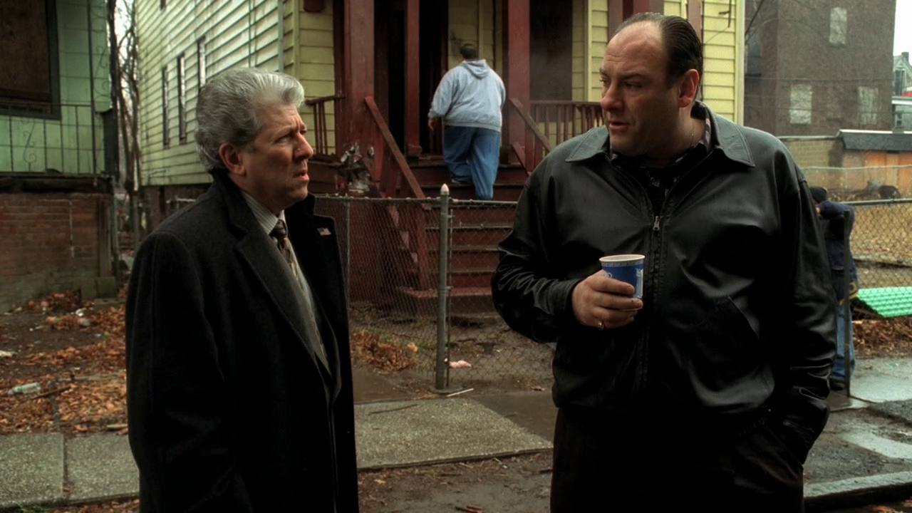 Image result for sopranos a.j watching too much television