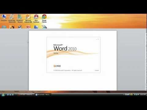 how to scan a document into word 2010