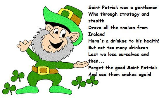 Saint Patrick Poems 6