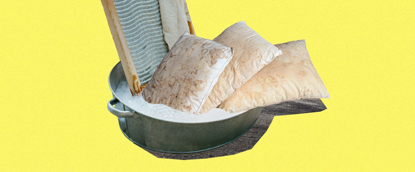 How to Wash a Pillow at Home (and Why You Really, Really