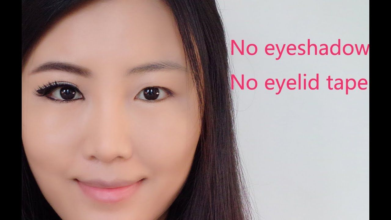 How To Make Eyes Look Bigger For Asian Monolid Puffy Eyes Without Eyesha Asian Eye Makeup Big Eyes Makeup Puffy Eyes Makeup