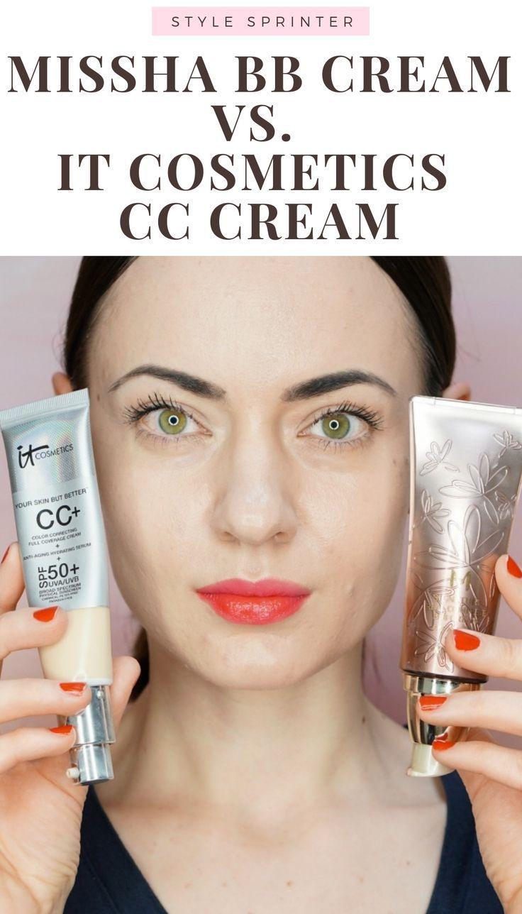 Missha Bb Cream Vs It Cosmetics Cc Cream Comparison And Review It Cosmetics Cc Cream Cc Cream Bb Cream